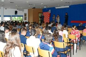 Un momento de la entrega de premios celebrada en el colegio Molière.