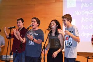 Ladiversión y el reconocimiento reinaron en un concierto que despertó conciencias