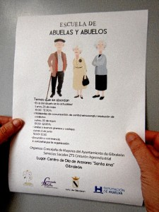 Escuela de abuelos y abuelas en Gibraleón.