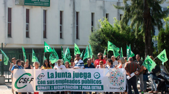 CSIF pide la recuperación de los derechos laborales a los 30.000 empleados públicos de Huelva