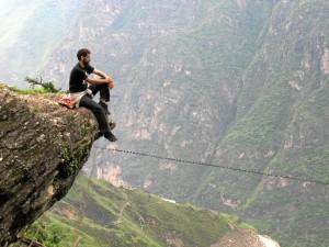 Garganta del Salto del Tigre, en China.