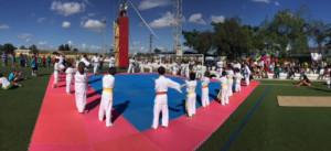 Más de de mil deportistas se dieron cita en las Miniolimpiadas de Gibraleón.