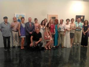 Exposición colectiva anterior de esta asociación en la Fundación Caja Rural del Sur