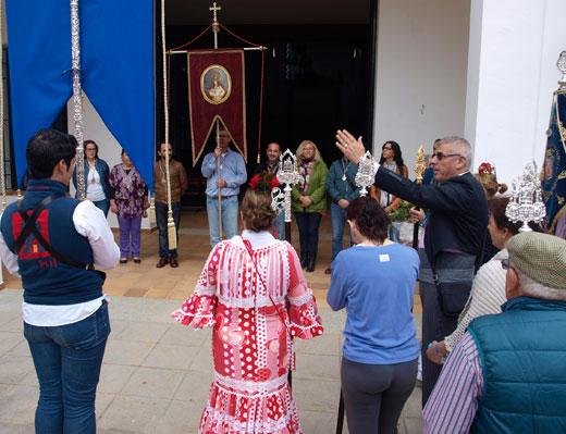 Las Hermandades de Huelva e Isla peregrinan a la Romería de la Bella de Lepe