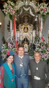 Mayordomos de la Romería 2017.