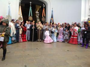 La presentación de hermandades comenzaba este viernes 13 de mayo.