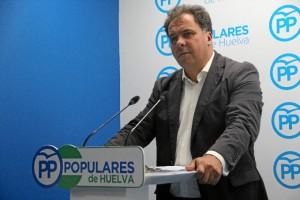Juan Carlos Duarte, viceportavoz del PP en la Diputación Provincial de Huelva.
