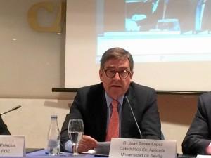 Juan Torres López, catedrático de Economía Aplicada de la Universidad de Sevilla.