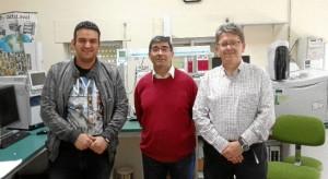 Investigadores Ifapa, en Jaén.