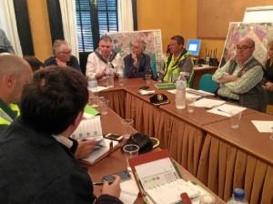 El delegado del Gobierno de la Junta en Huelva, Francisco José Romero Rico ha presidido una nueva reunión de urgencia del comité de Operaciones onubense.