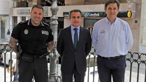 Los Juegos Europeos de Policías y Bomberos de Huelva reciben el apoyo de Caixa Bank