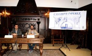 Las actividades se han presentado en el Salón Noble de la casa.