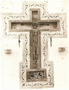 El venerado Cristo de la calle Enmedio. (Fototeca Martínez Navarro).