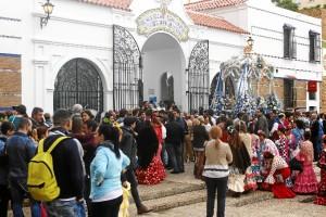 La Hermandad ha celebrado la misa de romeros en su casa.