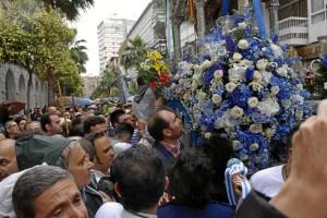Ofrenda floral en Diputación.