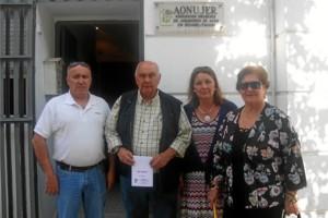 Miembros de la junta directiva de Aonujer.
