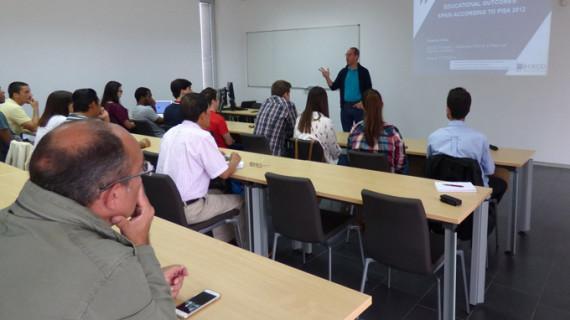 Alrededor de 12.000 docentes participaron durante el curso 2016/17 en actividades de formación