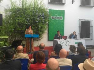 Un momento del acto celebrado en Moguer.