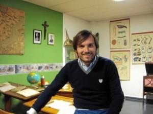 Pablo Álvarez, profesor e investigador onubense. / Foto: Museo Pedagógico de la Facultad de Ciencias de la Educación de la Universidad de Sevilla.