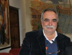 El arqueólogo Pedro Campos Jara.