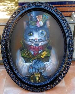 Pintura tradicional 'Oscat Wild'.