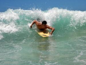 Gold Coast, ciudad en la que ha vivido durante 15 meses, es un paraíso para los surferos de todo el mundo.