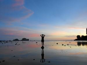 Una bella imagen realizada durante su viaje en Tailandia.