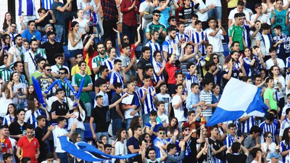 El Recre dispone de 500 entradas para vender en Huelva del partido del sábado en San Fernando