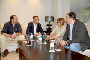 Un momento del encuentro celebrado en la Diputación.