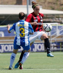 Pese a no realizar un partido completo, al menos el equipo de Huelva mereció un punto. / Foto: www.lfp.es.