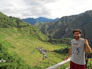 En las Terrazas de Arroz de Batad (Filipinas), uno de los lugares con más magia de los que ha visitado.