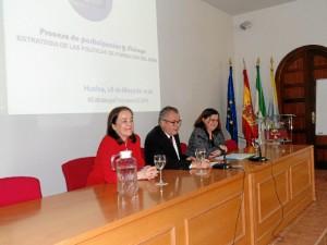 Un momento de la jornada de trabajo organizada por la Consejería de Salud en Huelva.
