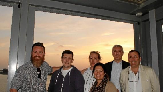 La compañía de cruceros Thomson Cruises visita el Puerto para comprobar las posibilidades que ofrece Huelva