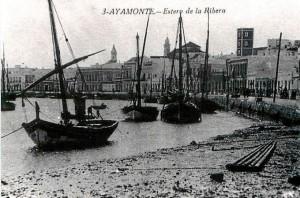 Estero de La Ribera de Ayamonte. / Foto: reocities.es.