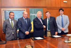 Fundación Caja Rural del Sur colaborará con la Aprupación de Interés Económico para la puesta en regadíos de 36.000 nuevas hectáreas.