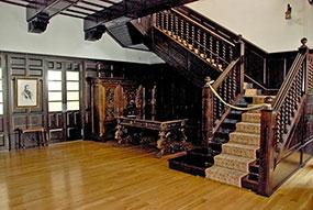Una imagen del interior del edificio.