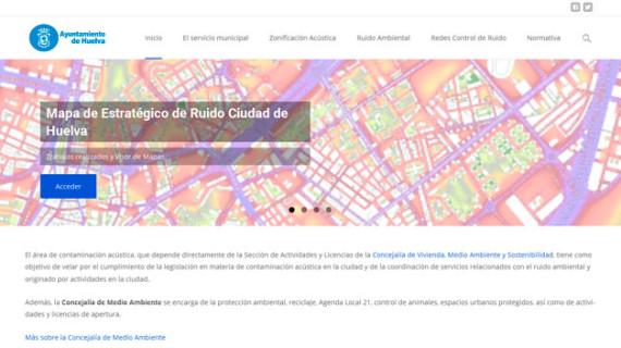 Una plataforma pública informa del ruido de la ciudad de Huelva a los ciudadanos
