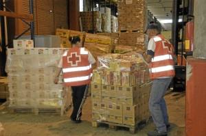 Se les entrega alimentos y todo tipo de ayudas. / Foto: mundocruzroja.org