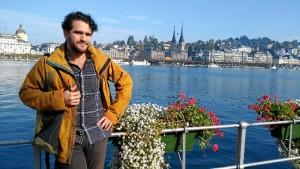 Durante seis meses vivió en Suiza. En la foto, en Lucerna.