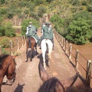 Recorren en cinco días de norte a sur la provincia de Huelva.