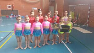 Escuelas del GR Huelva y Almonte, en el torneo celebrado en Isla Cristina.