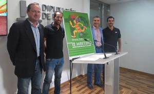 Un momento de la presentación del 12º Meeting Iberoamericano de Atletismo.