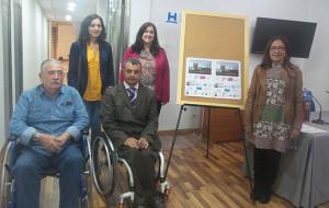 Presentado en la Diputación I Torneo Nacional de Pádel Adaptado de Aljaraque, que se disputa el jueves y el viernes.