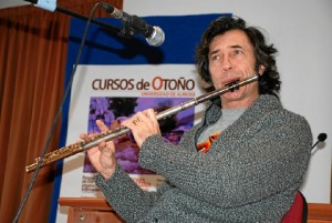 Ha trabajado con grandes artistas del mundo del jazz, como Jorge Pardo. / Foto: cms.ual.es