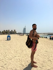 La playa es una de las grandes ventajas de Dubái.