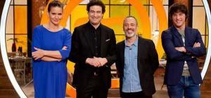 El actor Javier Gutiérrez visitó ayer el programa para elegir la mejor ensalada. / Foto: rtve.