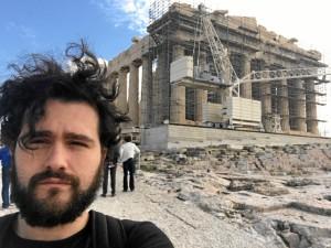 De viaje en Atenas, Grecia.