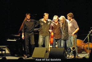 En una actuación con el quinteto 'King of Cai'.
