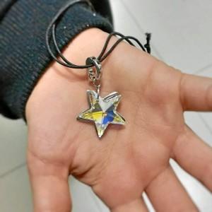 Rafa siempre lleva una estrella en recuerdo de Rosalía.