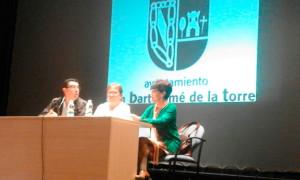 La obra se presentó en San Bartolomé con motivo del Día Internacional del Libro.
